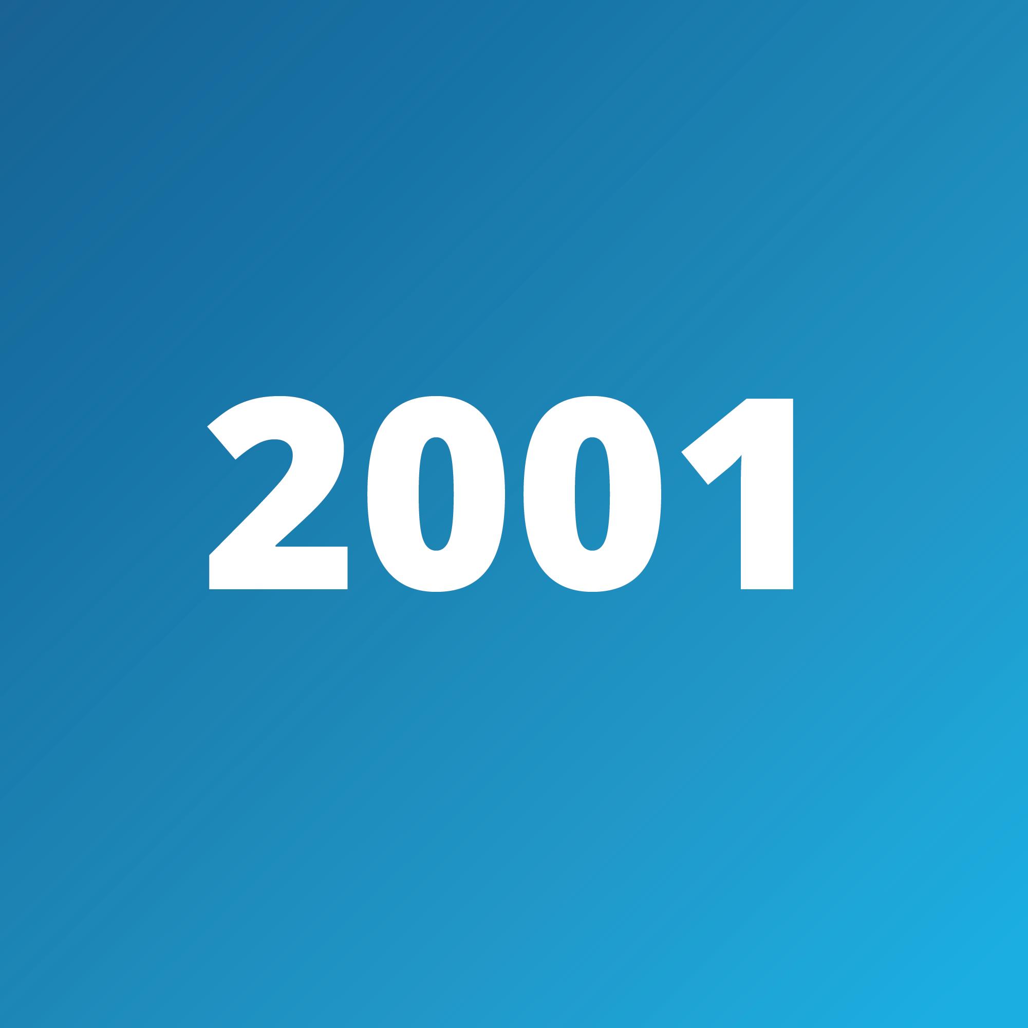 Timeline - 2001
