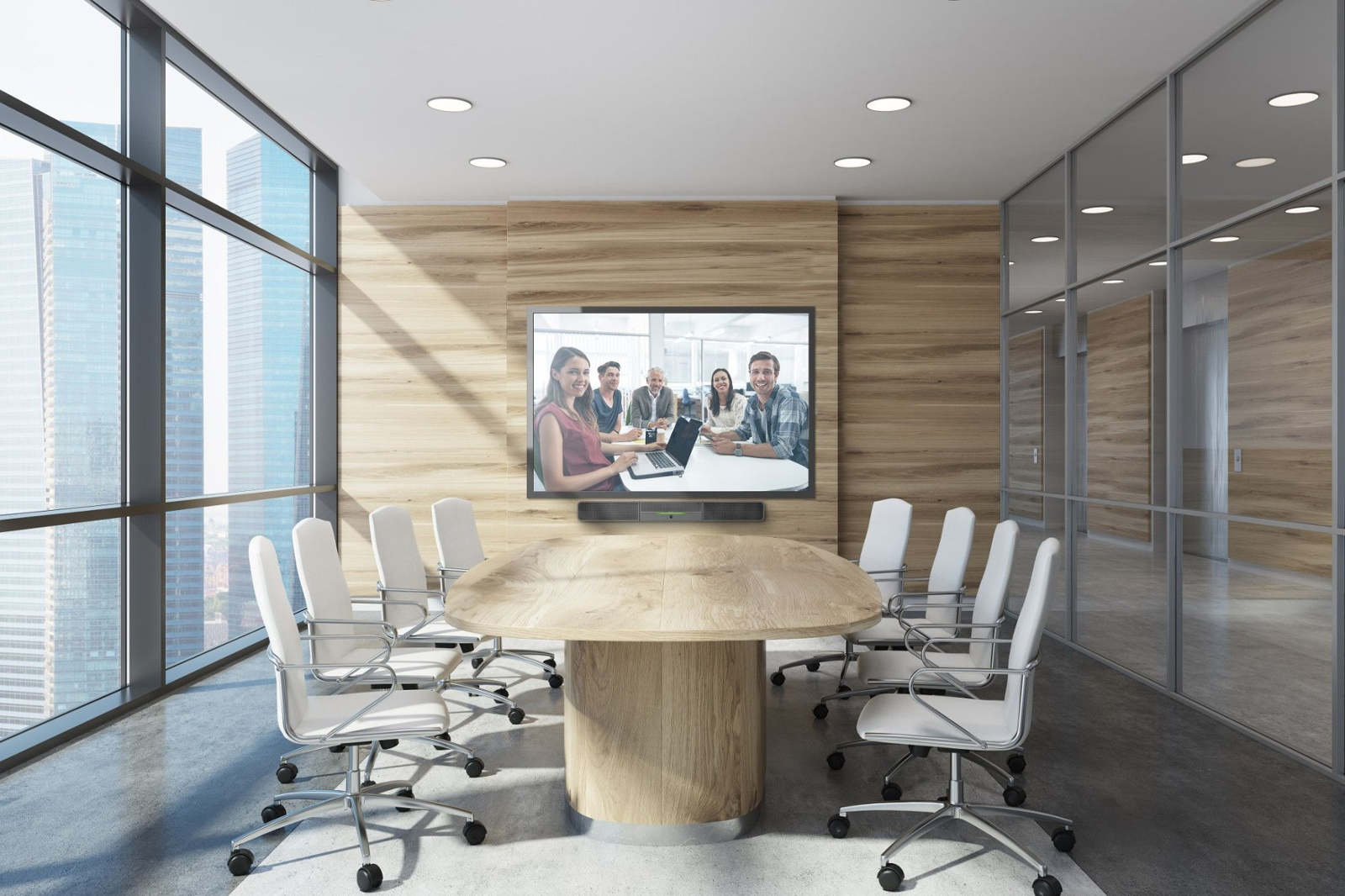 Small video ready meeting room