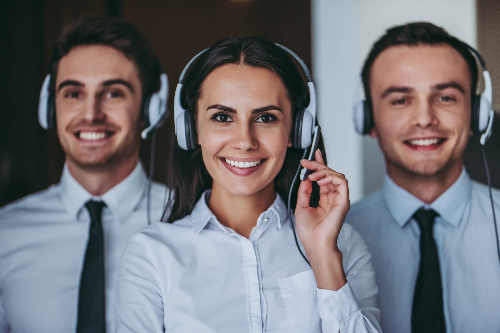 Contact Center Managed Services Team