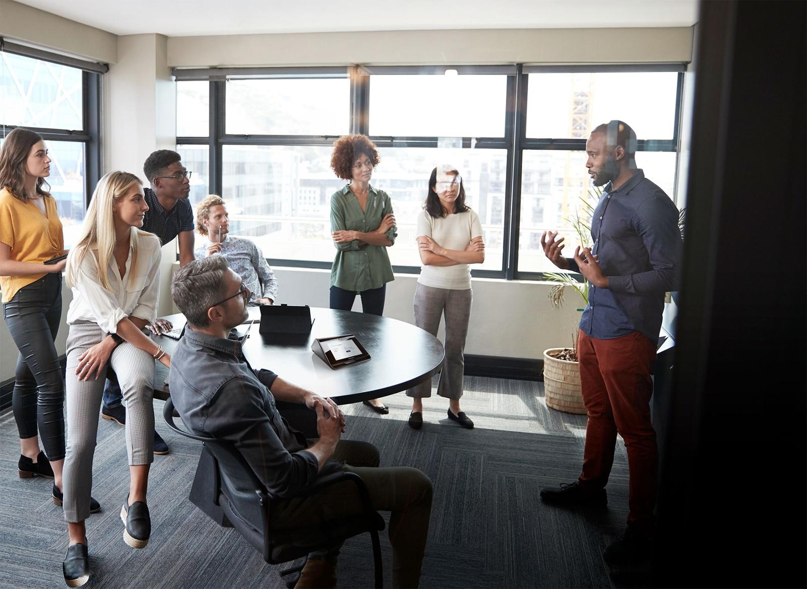 Microsoft Teams Native Poly Flex Room