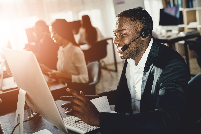 Sales call using video collaboration platform