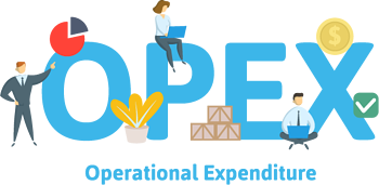 Capex versus opex for cloud solutions