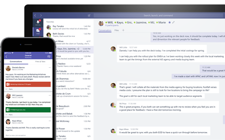 Hero Microsoft Teams UX