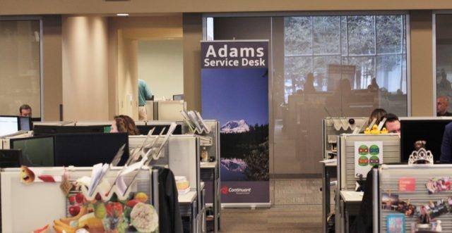 Adams Service Desk