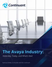 the avaya industry ebook cover