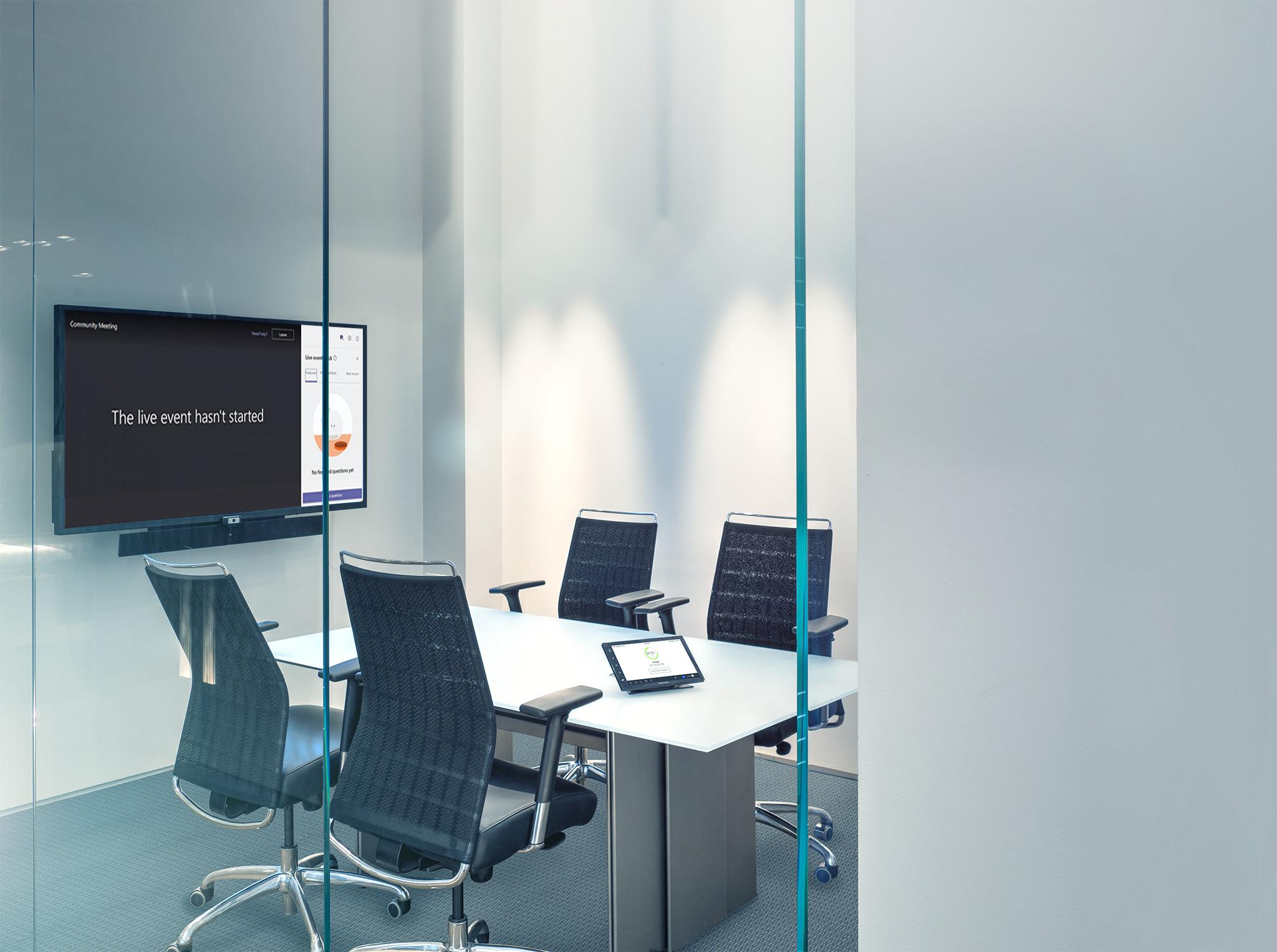 Small Microsoft Teams Room