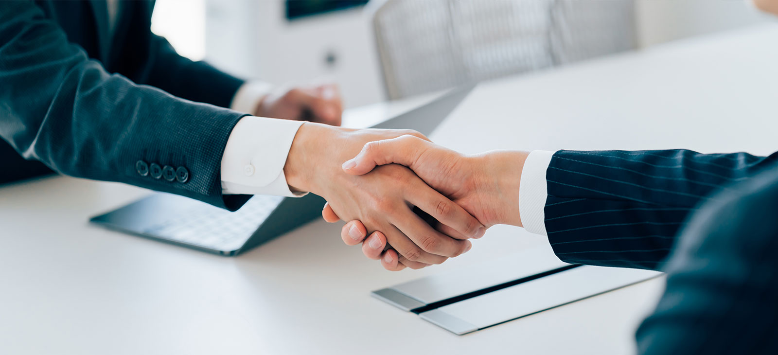 Handshake banner